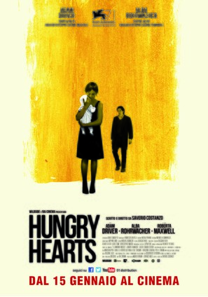 Hungry Hearts - Italian Movie Poster (thumbnail)