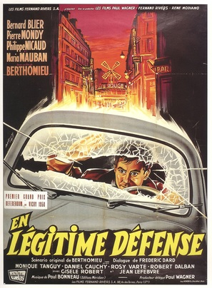 En légitime défense - French Movie Poster (thumbnail)