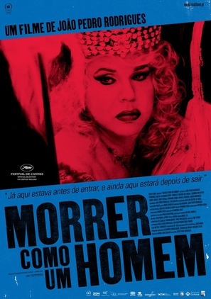 Morrer Como Um Homem - Portuguese Movie Poster (thumbnail)