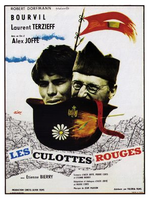 Les culottes rouges - French Movie Poster (thumbnail)