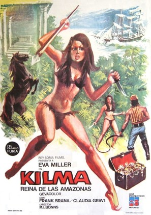 Kilma, reina de las amazonas - Spanish Movie Poster (thumbnail)