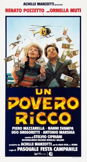 Un povero ricco - Italian Movie Poster (thumbnail)