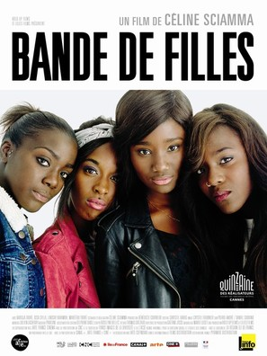 Bande de filles - French Movie Poster (thumbnail)