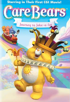 Care Bears: Journey to Joke-a-lot - DVD cover (thumbnail)