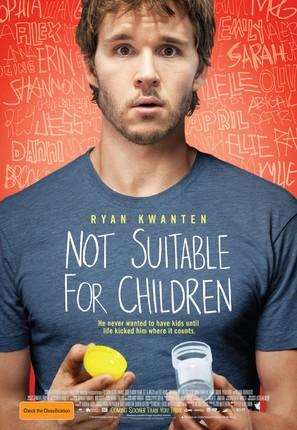 Not Suitable for Children - Australian Movie Poster (thumbnail)