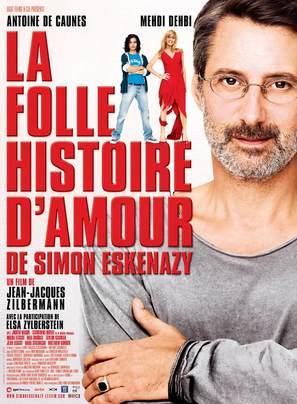 La folle histoire d'amour de Simon Eskenazy - French Movie Poster (thumbnail)