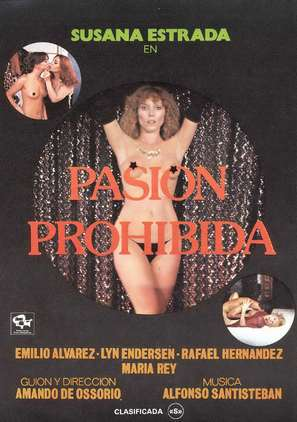 Pasión prohibida - Spanish Movie Poster (thumbnail)