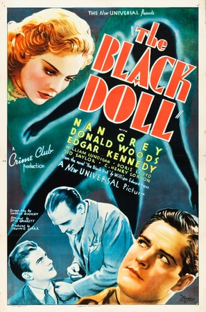 The Black Doll - Movie Poster (thumbnail)