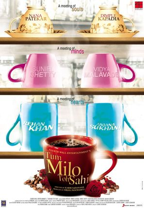 Tum Milo Toh Sahi - Indian Movie Poster (thumbnail)