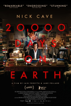 20,000 Days on Earth - Movie Poster (thumbnail)