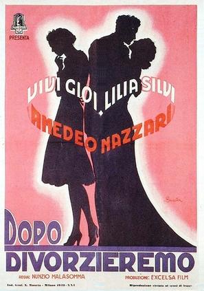 Dopo divorzieremo - Italian Movie Poster (thumbnail)