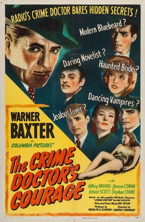 The Crime Doctor's Courage - Movie Poster (thumbnail)