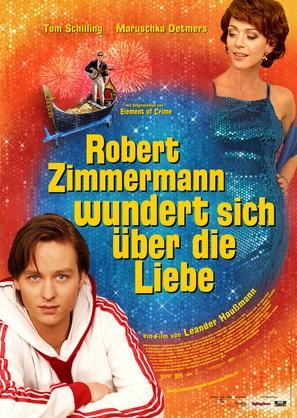 Robert Zimmermann wundert sich über die Liebe - German Movie Poster (thumbnail)