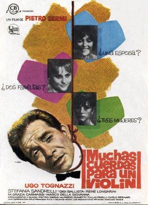 L'immorale - Spanish Movie Poster (thumbnail)