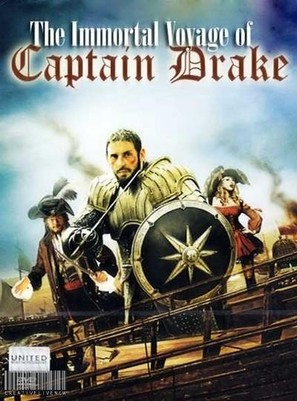 The Immortal Voyage of Captain Drake - British DVD movie cover (thumbnail)