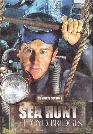 """""""Sea Hunt"""" - DVD cover (thumbnail)"""