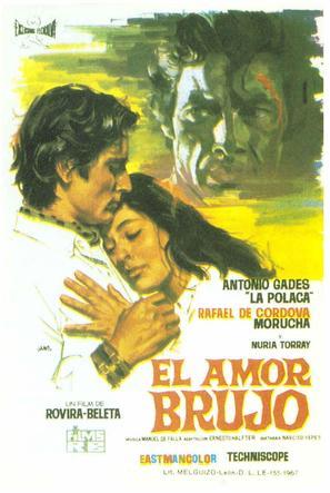 El amor brujo - Spanish Movie Poster (thumbnail)