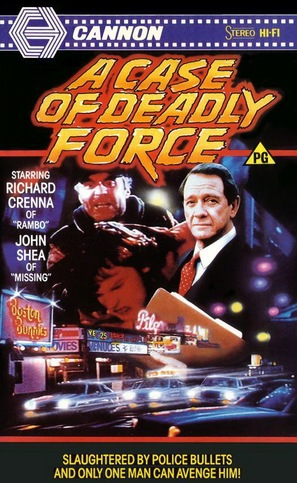 A Case of Deadly Force - British Movie Cover (thumbnail)