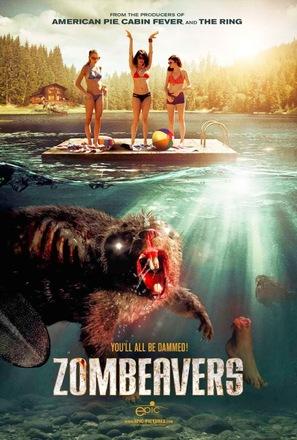 Zombeavers - Movie Poster (thumbnail)