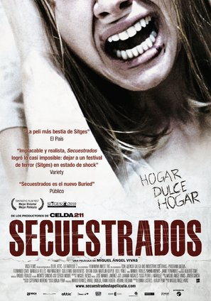 Secuestrados - Spanish Movie Poster (thumbnail)