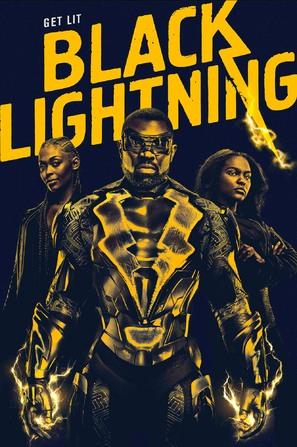 """""""Black Lightning"""" - Movie Poster (thumbnail)"""