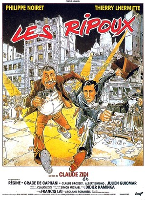 Les ripoux - French Movie Poster (thumbnail)