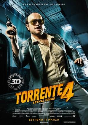 Torrente 4 - Spanish Movie Poster (thumbnail)