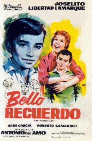 Bello recuerdo - Spanish Movie Poster (thumbnail)