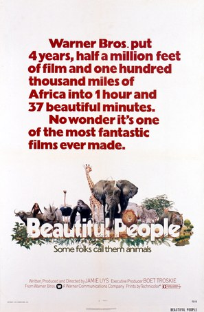 Animals Are Beautiful People - Movie Poster (thumbnail)
