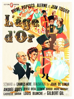 L'âge d'or - French Movie Poster (thumbnail)