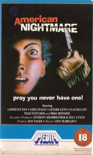 American Nightmare - British VHS cover (thumbnail)