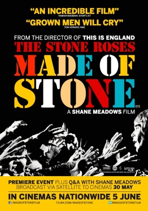 The Stone Roses: Made of Stone - British Movie Poster (thumbnail)