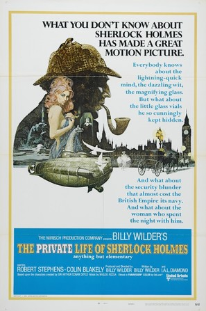 The Private Life of Sherlock Holmes - Movie Poster (thumbnail)
