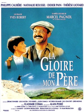 La gloire de mon père - French Movie Poster (thumbnail)