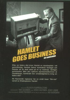 Hamlet liikemaailmassa - Swedish Movie Poster (thumbnail)