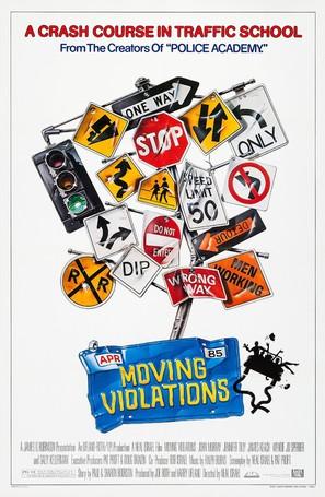 Moving Violations - Movie Poster (thumbnail)