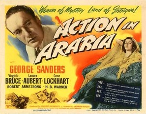 Action in Arabia - Movie Poster (thumbnail)