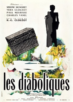 Les diaboliques - French Movie Poster (thumbnail)