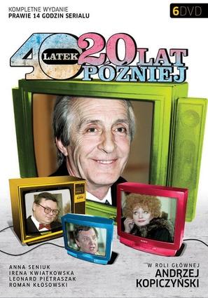"""""""Czterdziestolatek, dwadziescia lat pózniej"""" - Polish Movie Cover (thumbnail)"""