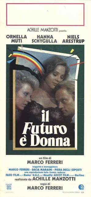 Il futuro è donna - Italian Movie Poster (thumbnail)