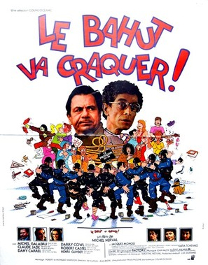Le bahut va craquer - French Movie Poster (thumbnail)