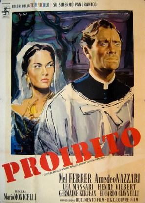 Proibito - Italian Movie Poster (thumbnail)
