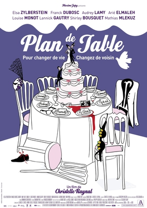 Plan de table - French Movie Poster (thumbnail)