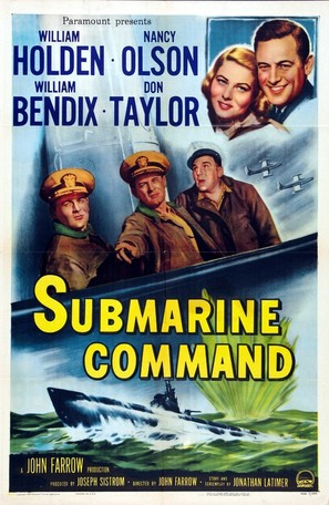 Submarine Command - Movie Poster (thumbnail)