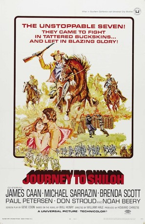 Journey to Shiloh - Movie Poster (thumbnail)