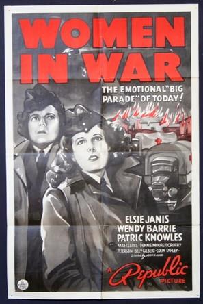 Women in War - Movie Poster (thumbnail)