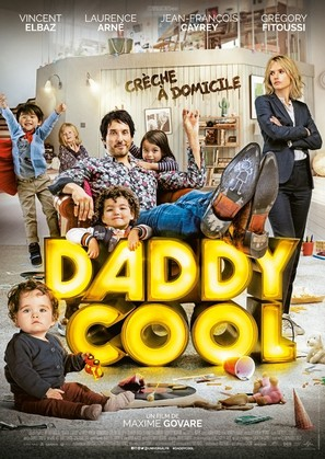 Daddy Cool - French Movie Poster (thumbnail)