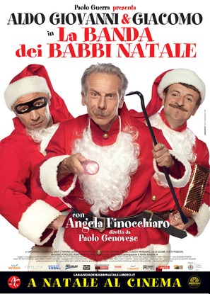 La banda dei babbi natale - Italian Movie Poster (thumbnail)