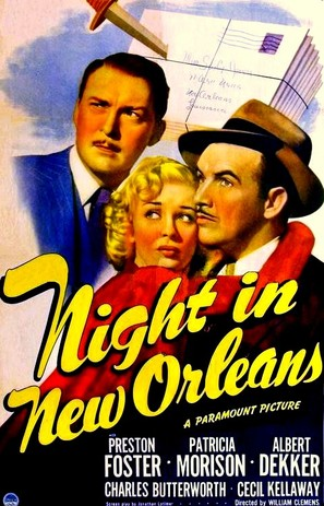 Night in New Orleans - Movie Poster (thumbnail)