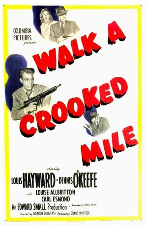 Walk a Crooked Mile - Movie Poster (thumbnail)